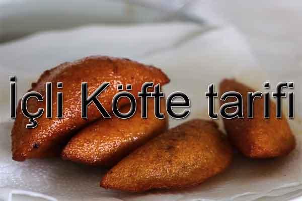 içli köfte nasıl yapılır? içliköfte tarifi Bayram yemekleri Ramazan