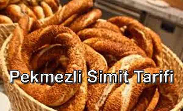 Pekmezli Simit - Turkish Bagel Tarifi