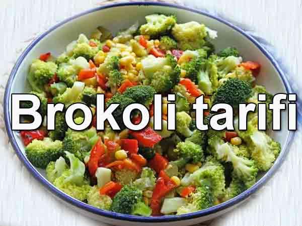Brokoli salatası nasıl yapılır Brokoli tarifi
