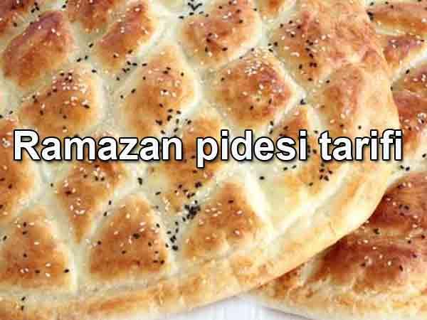 Ramazan pidesi nasıl yapılır Evde kolay ramazan pidesi tarifi