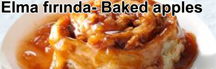 Baked apples tarifi - Fırında Elma  nasıl yapılır | Kolay tatlılar Şirin Gurme kolay ve pratik yemek tarifleri yemekler tarifi tarifler