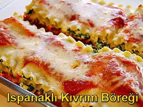 Ispanaklı kıvrım böreği tarifi ıspanaklı börek tarifleri nasıl yapılır Ispanaklı kıvrım böreği tarifleri, ıspanaklı börek nasıl yapılır Hamur işleri