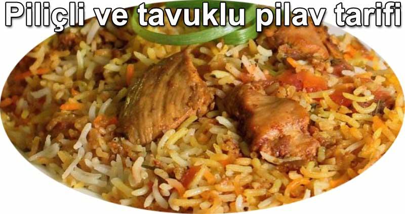 Sirin Gurme tavuklu ve piliçlii pirinc pilavi tarifi kolay tarifler, yemekler