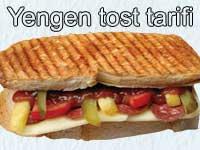 Yengen tost tarifi - yengen tostu nasıl yapılır | Tost ve aperatif yiyecekler