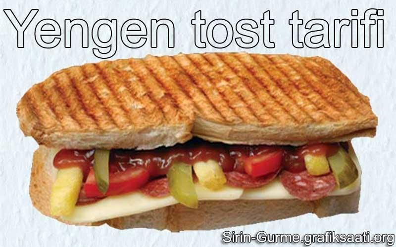 Yengen tost nasıl yapılır ve Kolay yengen tarifleri Tost ve aperatif yiyecekler tostlar